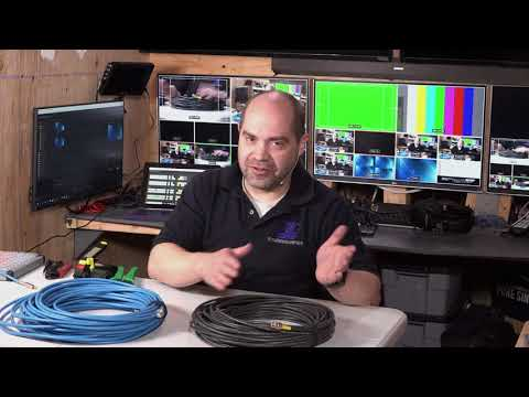 What Types Of Cables Do You Use For SDI Professional Video?