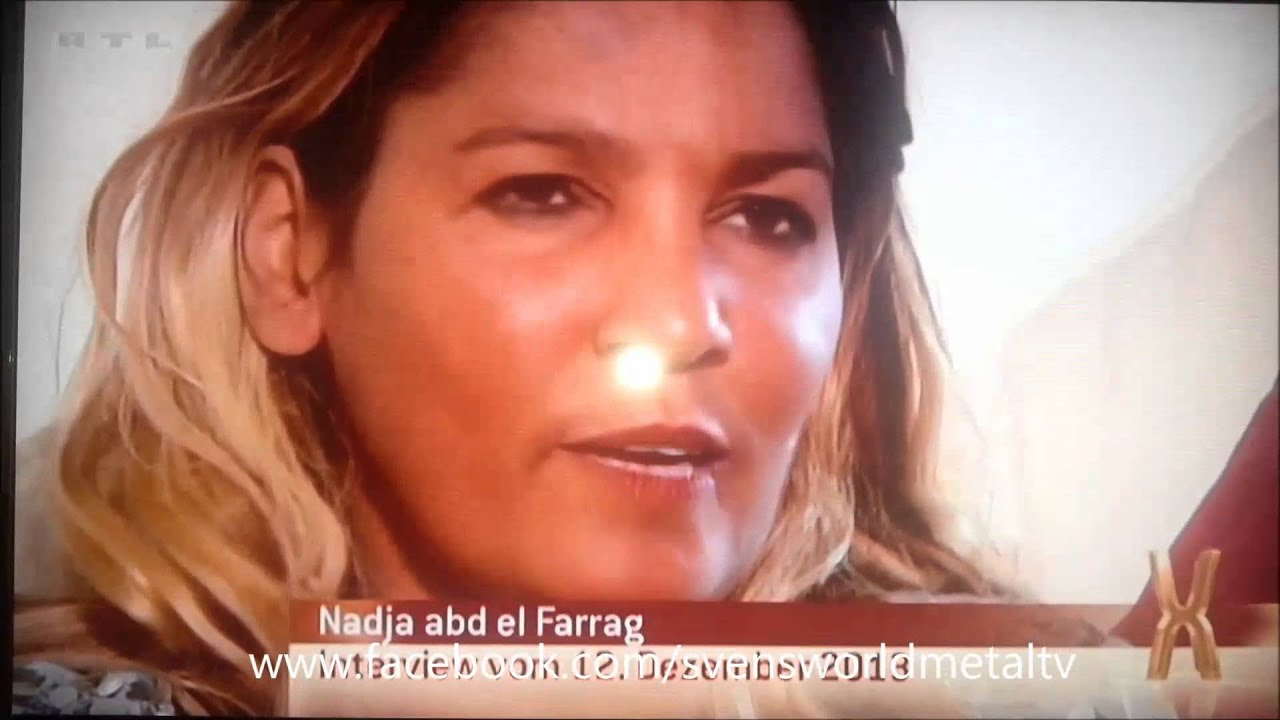 Naddel fliegt besoffen aufs Maul 2014 - Nadja Abd El