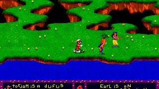 Gameplay - Toe jam & Earl - Sega Genesis