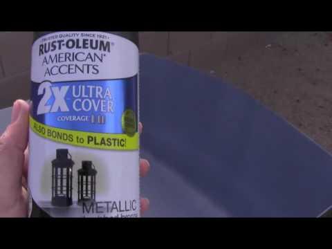 Aquaponics- Painting the tote black