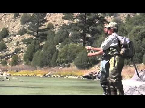 Fly Fishing the Chama River in Northern New Mexico