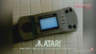 Atari Lynx Handheld System (1989) - Video Game Years History