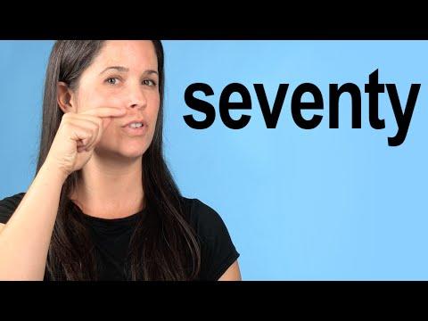 How to Pronounce SEVENTY -- American English