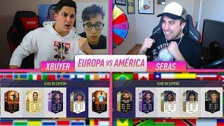 ¡AMERICA vs EUROPA! FUT DRAFT CHALLENGE