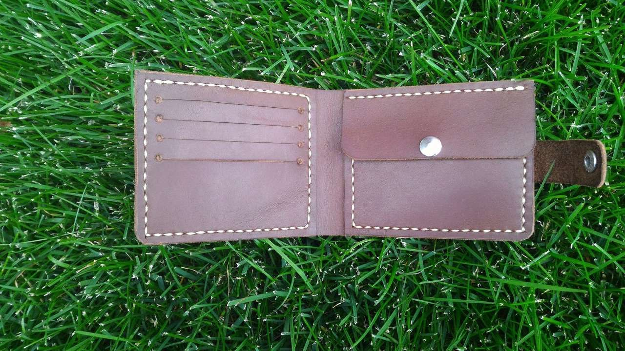 Diy Leather Card Holder Wallet | City of Kenmore, Washington