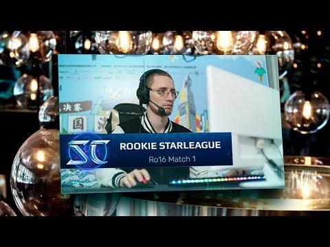 [SC:R] Kaby на Rookie Starleague: Ro16 Match 1 (ZvP)