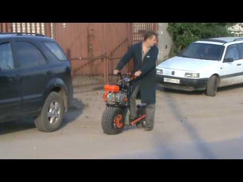 видео: самокат200сс ,передний привод