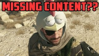 So... That Missing Content in MGS5...