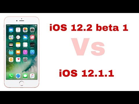 IOS 12.2 Beta 1  Vs IOS 12.1.1 Speed Test On IPhone 6s | ISuperTech
