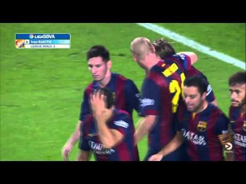 Ivan Rakitic Goal vs Sevilla 2014/2015