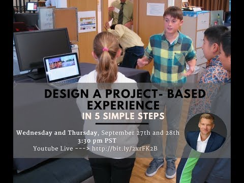 Design a Project- Based Learning Experience in 5 Simple Steps