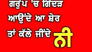 The King    Amrit maan Punjabi WhatsApp status red screen video