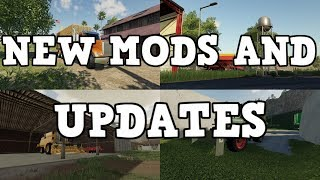 NEW TRUCK PACK, WATER TOWER, PLUS UPDATES | NEW MODS AND UPDATES | Farming Simulator 19