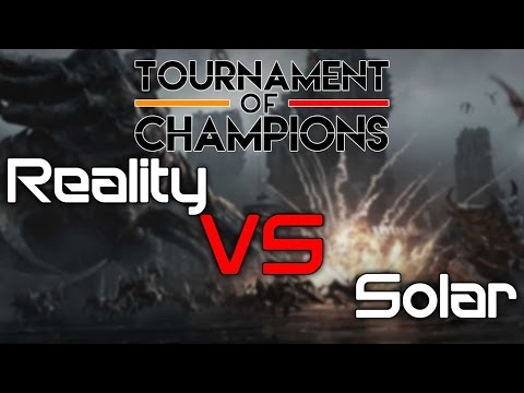 Team Gravity's Fight Night (Tournament of Champions) - Reality vs Solar  - [TvZ]
