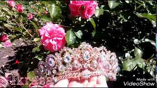видео Диадема свадебная золото