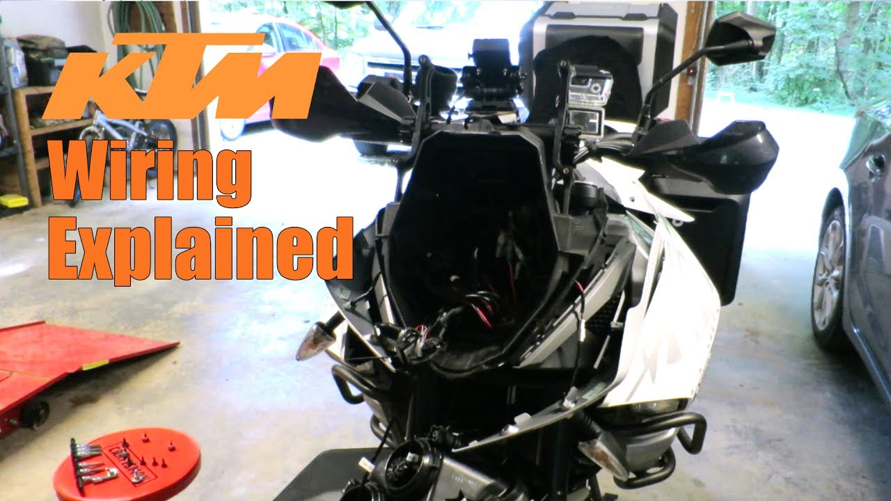 small resolution of ktm 1190 1290 accessory wiring explained back in the garage youtube ktm 1190 adventure wiring diagram