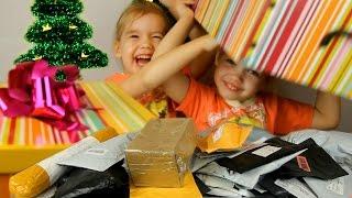РАСПАКОВКА ПОСЫЛОК  Для детей Посылка с игрушками Сюрпризы и подарки посылки детям MailBox unboxing