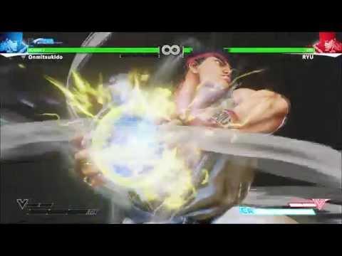 Street Fighter V: Ryu | Shinku/Denjin Hadouken [Critical Arts] HD