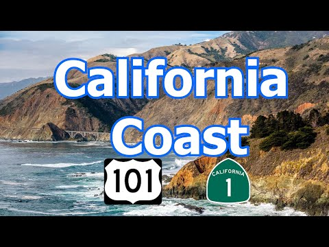 California Coast - via Pacific Coast Hwy & 101