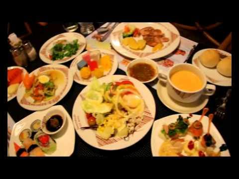 International Buffet Lunch at Lotus Hotel Pang Suan Kaew at Chiangmai Thailand