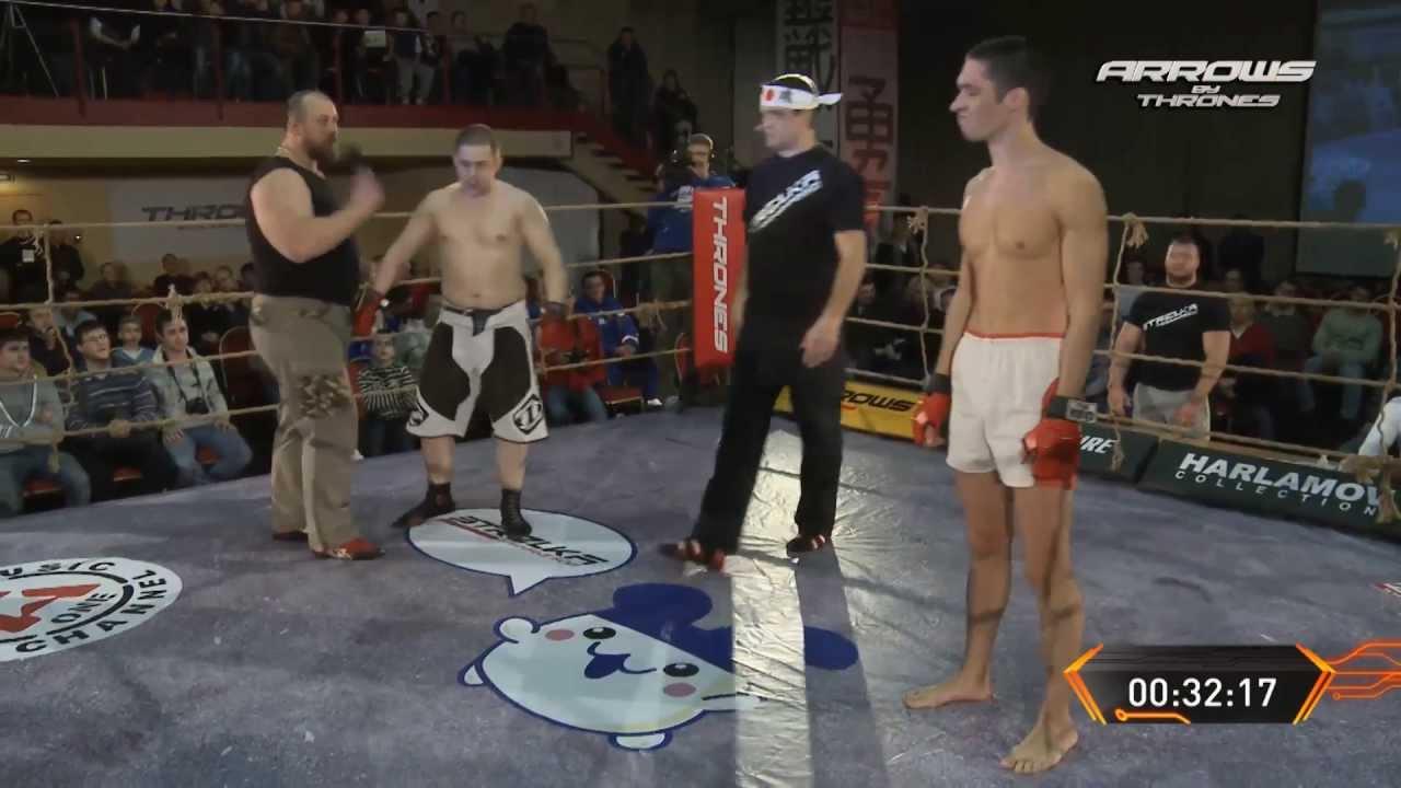 ARROWS street fight ROCKET MAN vs HORSE MAN