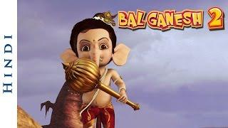 Bal Ganesh 2 - Lord Ganesh Kampfszene mit Dämonen - Cartoon-Filme für Kinder