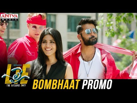 Bombhaat Video Song Promo || Lie Songs | Nithiin , Megha Akash | Mani Sharma