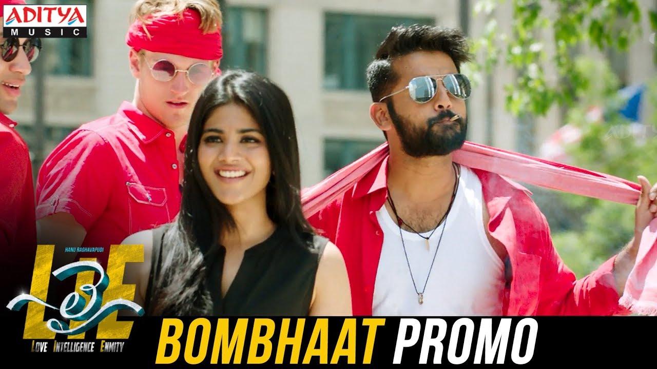 bombhaat video song promo lie songs nithiin megha akash mani sharma youtube. Black Bedroom Furniture Sets. Home Design Ideas