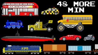 48 More Minutes of Vehicles - Collection of S...
