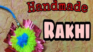 Happy Raksha Bandhan|Rakhi special video|Simple and handmade Rakhi|Crafty Ideas |Sparkling Riddhi