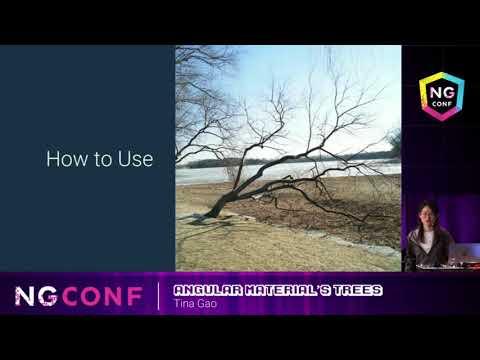 Angular Material's Trees - Tina Gao