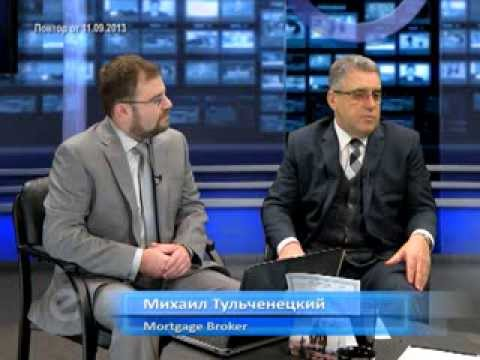 "TV Talk Show""The Hour Together""Mortgage Brokers,Michael Tulchenetskiy & Denys Derzhavets"