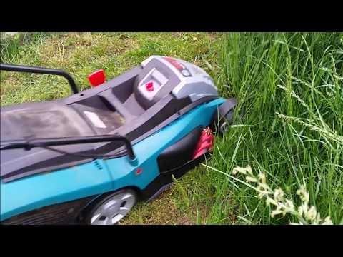 bosch rotak 32 electric lawnmower review doovi. Black Bedroom Furniture Sets. Home Design Ideas