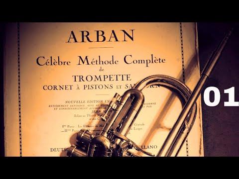 TRUMPET ARBANS METHOD - 68 Duets - 01 - SACRED SONG