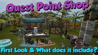 New! Quest Point Shop Update! [Runescape 3] New Pets & Items!
