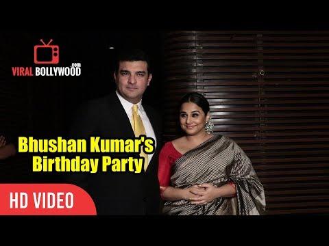 Vidya Balan And Siddharth Roy Kapur At Bhushan Kumar's Birthday Party | T-Series Party
