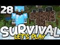 WITHER BOSS, HERE WE COME!!! - Survival Let's Play Ep. 28 - Minecraft Bedrock (PE W10 XB1)