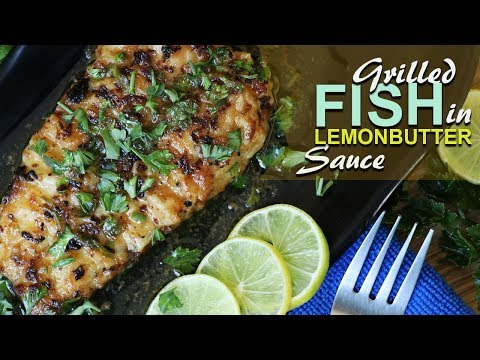 Pan Grilled Fish in Lemon Butter Sauce | Seafood Recipe