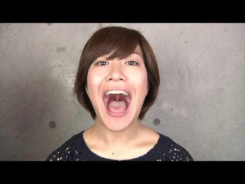 Yamada Mami's Mouth and Uvula Closeup