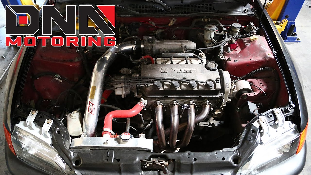 Dna Motoring Crx Civic Del Sol Integra Suspension Kit Top Hat 93 Electrical Wiring Diagram Installation