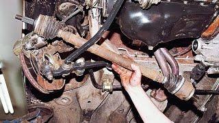 Как снять приводы передних колес. ВАЗ 2110, 2111 2112.