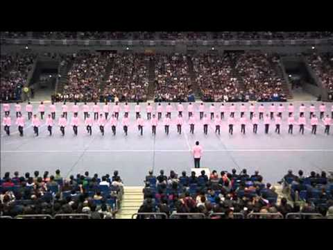 'Synchronized Precision Walking' in Japan
