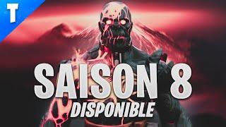 VOICI LE THÈME ET LA MAP DE LA SAISON 8 DE FORTNITE BATTLE ROYALE !
