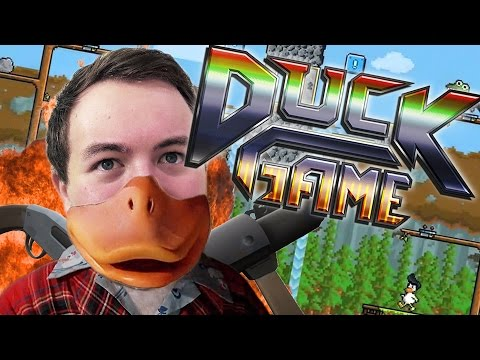 REDNECK THANKSGIVING! | Duck Game w/ Max and Ross