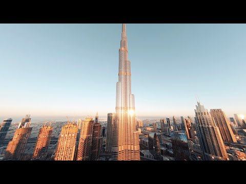 Diving the Tallest Building in the World - Burj Khalifa FPV