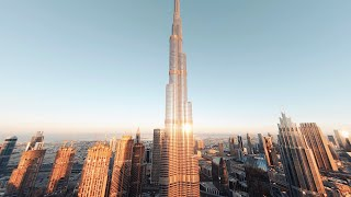Diving the Tallest Building in the World - Burj Kh...