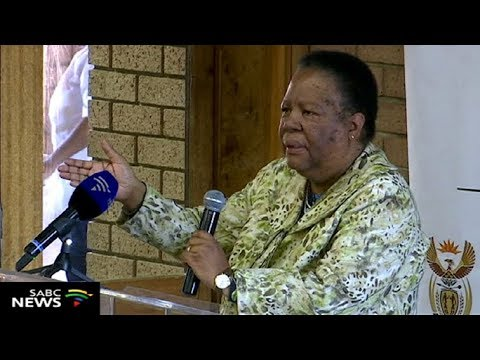 Minister Naledi Pandor calls on youth to take the lead in communities