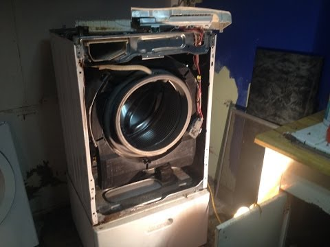 Front Load Washer Repair Not Draining Or Spinning H