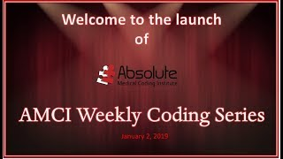 AMCI Weekly Coding Series #1   EM Coding with Ms  Tracy