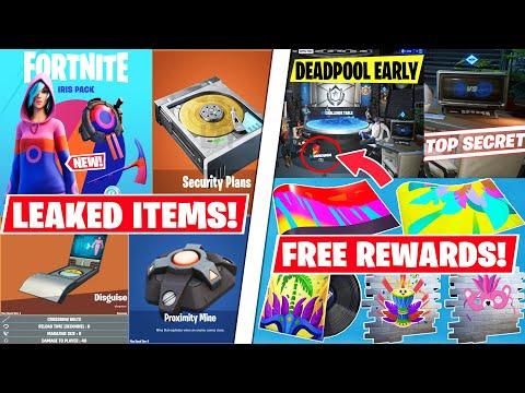 *NEW* FREE Carnival Fortnite Rewards! Iris Starter Pack OUT, 3 Leaked Updates & Faction Wars LTM!